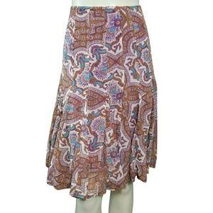 Dresses & Skirts - Nicole Miller Paisley A-Line Skirt